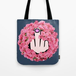 The Glamorous Middle Finger Tote Bag