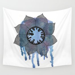 Winter Bloom Wall Tapestry