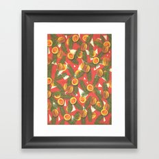 Summer Melon Framed Art Print