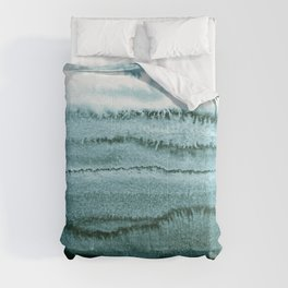 WITHIN THE TIDES - OCEAN TEAL Comforters