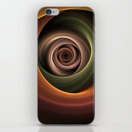 Fractal Depth And Warmth iPhone Skin