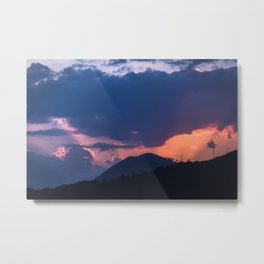 Dubrovnik Sunset Metal Print
