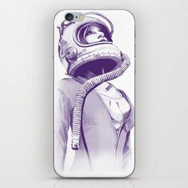 Space Woman iPhone Skin
