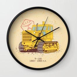 T 100 Wall Clock