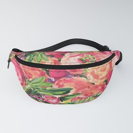 Pretty Peonies Fanny Pack
