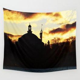 Sunrise Djurgården Stockholm 2 Wall Tapestry