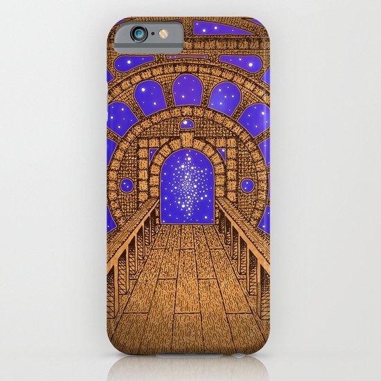 orvio illuminated space mandala iPhone & iPod Case
