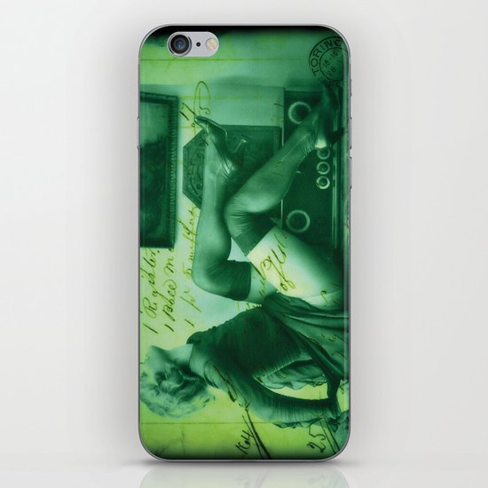 When She Was Young iPhone & iPod Skin