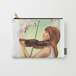 The Lovable Violin Girl Carry-All Pouch