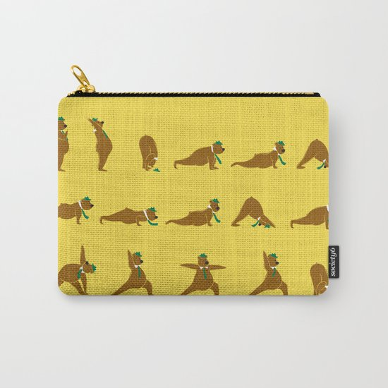 Yoga Bear - Classic Carry-All Pouch