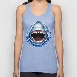 Shark Jaws Attack Unisex Tank Top