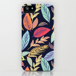 Bright leafs iPhone Case