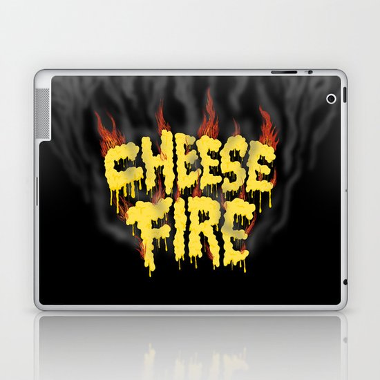 CHEESE FIRE!!! Laptop & iPad Skin