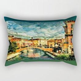 Keldjir Canal Rectangular Pillow