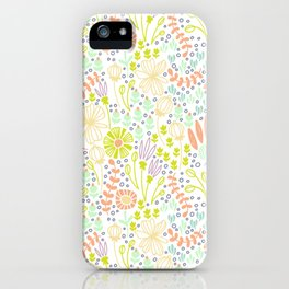 May Blooms iPhone Case