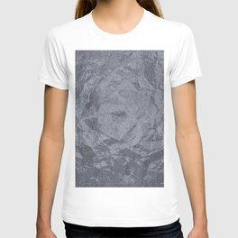 Grunge cracked marble T-shirt
