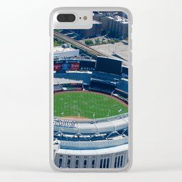 Yankee Stadium From Above Clear iPhone Case