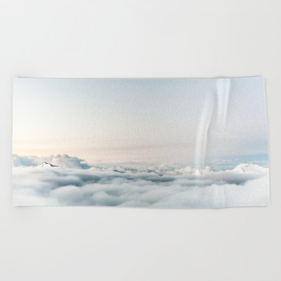 Into the Clouds Beach Towel