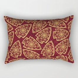 KC Chiefs Pattern Rectangular Pillow