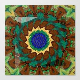 Whirly Twirly Nausea Canvas Print