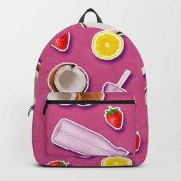 Summer fruit pink Backpack