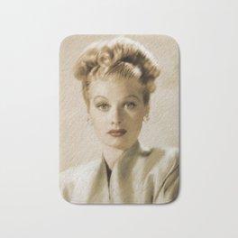 Lucille Ball Bath Mat