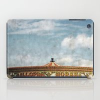 carousel iPad Cases featuring Carousel by ALLY COXON