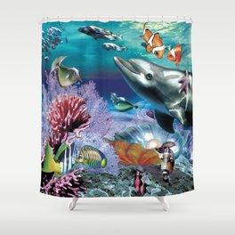 Dolphinius Shower Curtain