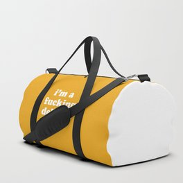 I'm A Fucking Delight Funny Quote Duffle Bag