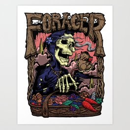 Forager Trauma Series Art Print