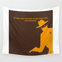 gore Wall Tapestries featuring No202 My The Lone Ranger minimal movie poster by Chungkong