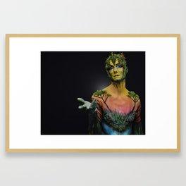 Curious Conversations Framed Art Print