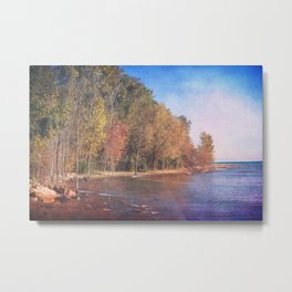 Somewhere There's Peace Metal Print