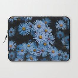 Blue Asters Laptop Sleeve