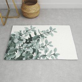 Eucalyptus Leaves Green Vibes #1 #foliage #decor #art #society6 Rug