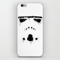 trooper iPhone & iPod Skins featuring Trooper by Mikko