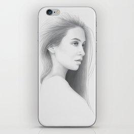"""Soul"" Woman Portrait iPhone Skin"