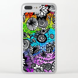 Love is Love Clear iPhone Case