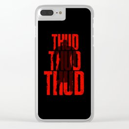 Survival Horror III Clear iPhone Case
