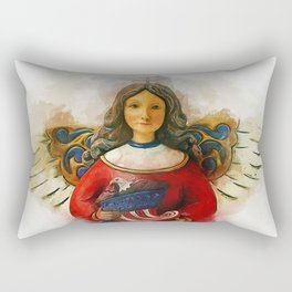 USA Angel Rectangular Pillow