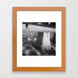 Sand Castles Framed Art Print
