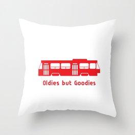We #LOVE Streetcars! Throw Pillow