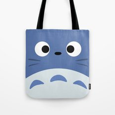 Blue Troll Tote Bag