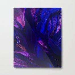 Dark Feathers Metal Print