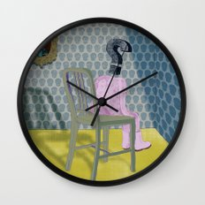 In the dog house. Question series Wall Clock