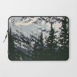 Glacier National Park Laptop Sleeve