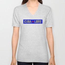 Cuba Libre Unisex V-Neck