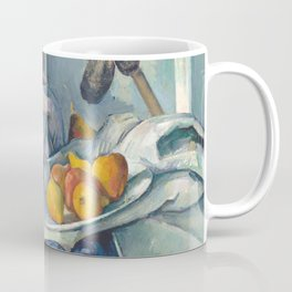 Paul cezanne Still alive with a jar of ginger and aubergines Coffee Mug