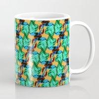 lizard Mugs featuring Lizard by Canelica