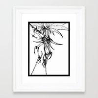 birdman Framed Art Prints featuring Birdman by JG Designs